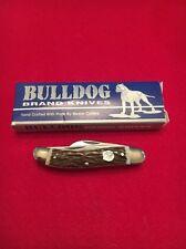 1st Generation Bulldog Serpentine  Stockman Knife KY Derby Stag ,1984
