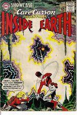 Showcase 52 Cave Carson Adventures VG 1967 Glossy