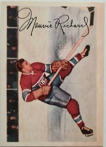 Maurice Richard 2001-02 Parkhurst Reprints #42