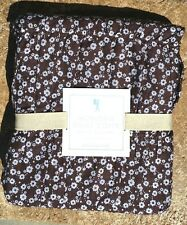 POTTERY BARN ~ PB KIDS ~ JACQUELINE TWIN DUVET ~ BROWN ~ NEW BEDDING