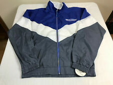 Spike Sports Bud Light Embroidered Windbreaker Jacket Mens Large New