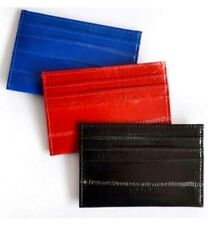 Genuine Eel Skin Leather Credit Card, Business Card, ID Card Holder