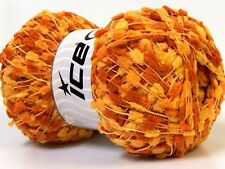 Lot of 4 x 100gr Skeins Ice Yarns Knots SALE POMPOM (100% Microfiber) Wool Ye...