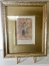 New listing small framed print of Shamshiel- Angel Prince of the Garden of Eden wall decor