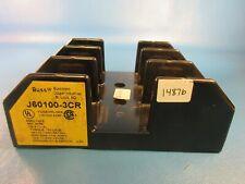 BUSS J60100-3CR Fuse Holder, 3 Pole, 600 Volt, 100 AMP
