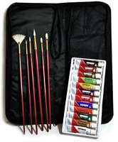 Artists Oil Painting 19 Piece Keep N' Carry Art Set By Royal and Langnickel