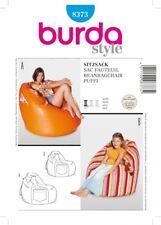 Burda SEWING PATTERN 8373 Bean Bag Chair In 2 Sizes