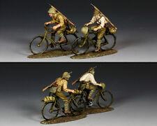 King and Country WW2 japonais chevauchant leurs Bicyclettes JN44 JN044