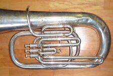 Old WELTKLANG tedesco Tuba per la riparazione