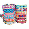 Handmade Multicolor Woven Braided String Cord Boho Ethnic Friendship Bracelets