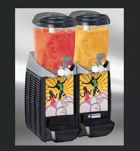 Slush Ice Eis Maschine Granita Dispenser Eismaschine 2x 5,5 L Gastlando