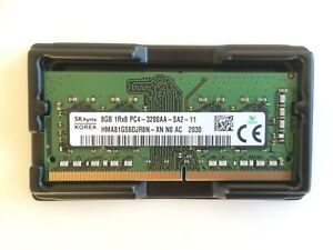SK HYNIX 8G PC4 3200 DDR4 SODIMM Laptop RAM 1Rx8 PC4-3200AA-SA2-11