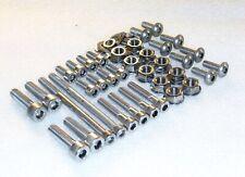 Yamaha XVS650 V-Star XVS65 Silverado Cylinders Stainless Bolt & Flange Nut Kit