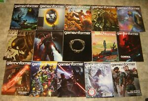 Game Informer Vintage Magazine Lot of 15 Issues Very Good to Excellent condition