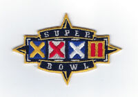 1998 Super Bowl XXXII patch Green Bay Packers vs Denver Broncos SB 32 Favre