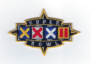 1998 Super Bowl XXXII patch Green Bay Packers vs Denver Broncos SB 32 Favre