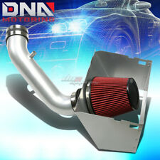 FOR 02-08 DODGE RAM 4.7 5.7 HEMI SILVER POLISHED COLD AIR INTAKE KIT+HEAT SHIELD