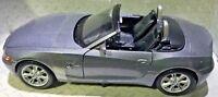 Maisto Special Edition BMW Z4 Metallic Gray 1:24 Scale Die Cast