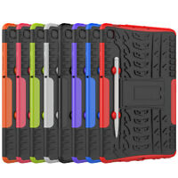 Rugged Hybrid Armor Case Stand Cover for Samsung Galaxy Tab S6 Lite SM-P610/P615