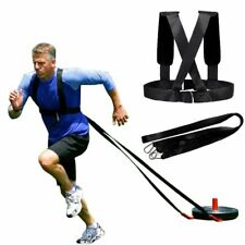 Resistance Bands Weight Bearing Shoulder Strap Training Running Speed Exercise