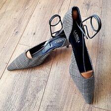 La Perla Herringbone Tweed slingback Court Shoes - UK 6 EUR 39