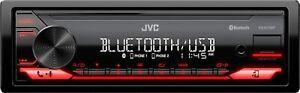 JVC - Built-in Bluetooth In-Dash Digital Media Receiver - Black
