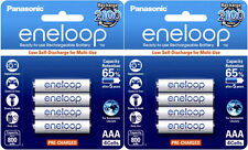 8x Panasonic Eneloop AAA 800mAh LSD NiMH Rechargeable Batteries (2x 4pk)