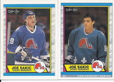 Joe Sakic 1992-93 O-Pee-Chee 25th Anniversary Series Rookie Card & OPC # 55