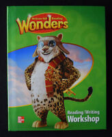 NEW Student Textbook WONDERS Grade 4 Reading Writing Workshop McGraw Hill 4th