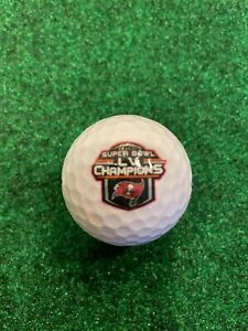 NEW!!  Genuine Official Superbowl LV Tampa Bay Buccaneers Wilson Golf Ball Bucs