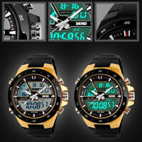 Men's Military Multi-function Digital Quartz Wrist Watch Watches Water Resistant