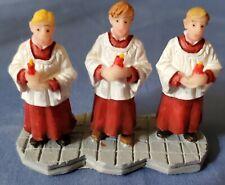 Lemax Christmas Village Collection 3 Choir Boys