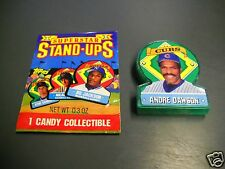 1991 Topps Stand Ups TEST ISSUE - ANDRE DAWSON Chicago Cubs HOF - Odd Ball Item