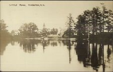 Kingston NH Little Pond c1910 Real Photo Postcard