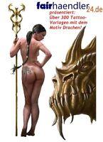 ✜ DRACHEN TATTOO VORLAGEN MRR dragón 龍 draak дракон smok ドラゴン drago TATTOOS GEIL