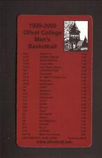 Olivet Comets--1999-00 Basketball Magnet Schedule
