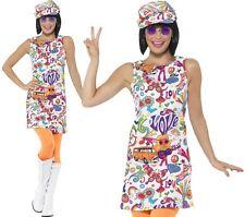 Smiffys 44911m 60's Groovy Chick Costume (medium)