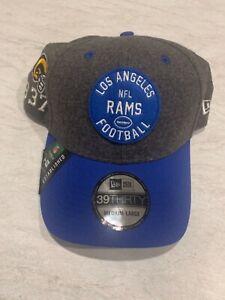 Los Angeles Rams 2019 On-Field Sideline Home 39THIRTY Hat Men's Size: M/L Helmet
