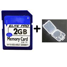 2g 2 Gb 100% Completa capacidad Sd Tarjeta De Memoria Digital velocidad rápida Tarjeta Sd Para Cámara
