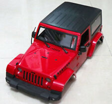 1/10 RC Car Truck Hard Body Shell Canopy For Jeep Wrangler Topless SCX10 D90 Red