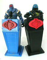 GI Joe Cobra Commander Serpentor Presidential Podium   -Free shipping!