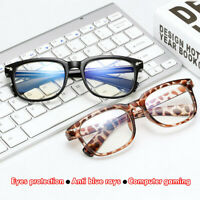 Anti Blue Ray Computer Glasses  UV Protection Eyeglasses Anti-fatigue Goggles