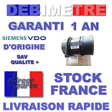 Débitmètre 7700109812 VDO 5wk9620 h7700104426 dci dti d'origine Siemens