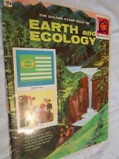 Vintage-The Golden Stamp book of Earth and Ecology 1972 1st printing