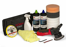 DA POLISHER BUFFER CAR ELECTRIC SANDER, 3M FAST CUT PLUS & ULTRAFINA & 11 PADS