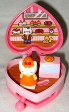 Cute Hello Kitty Compact House Play Set Cake Shop