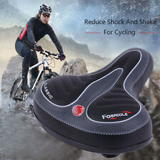 Wide Big Bum Bike Bicycle Gel Cruiser Extra Comfort Sporty Soft Pad Saddle Seat~