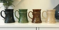 More details for 4 x collectable alexander keiths fine beer ale ceramic tankard
