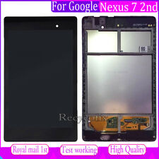 For Asus Google Nexus 7 2nd 2013 Screen Replacement LCD Touch Digitizer + Frame