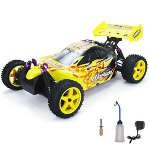 New Remote Control Hsp Rc Car 1/10 2.4Ghz  2Speed Nitro 4Wd Off-Road Buggy